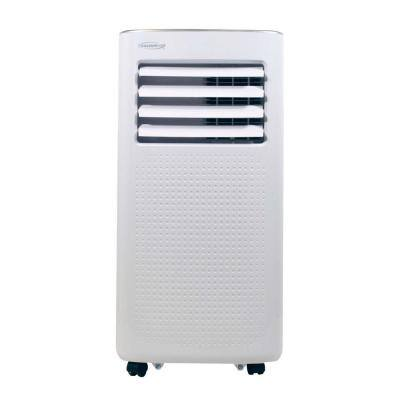 8,000 BTU (5,000 BTU DOE) Portable Air Conditioner with Dehumidifier and Mirage Display in White