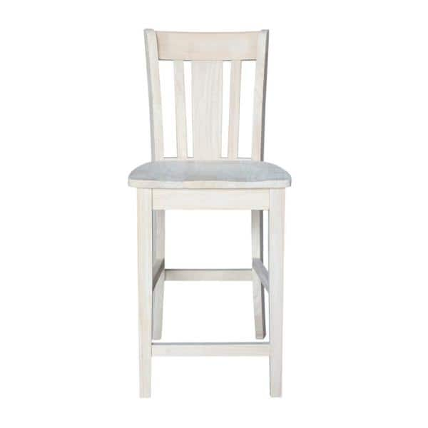 In Unfinished Wood Bar Stool S 102, Unfinished Furniture Stools