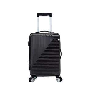 Star Trail 20 in. Grey Hardside Spinner Suitcase