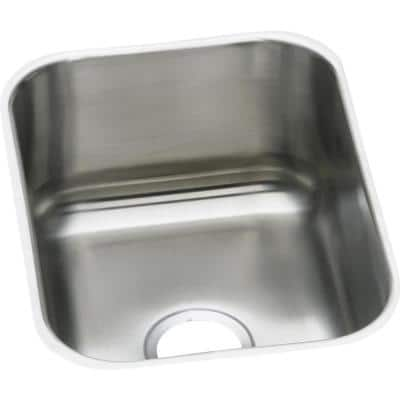 Signature Plus Drop-In/Undermount Stainless Steel 20 in. Single Bowl Kitchen Sink