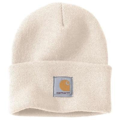 Men's OFA Winter White Acrylic Watch Hat