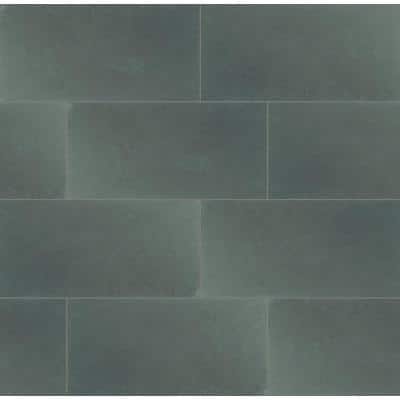 Montauk Blue 12 in. x 24 in. Gauged Slate Floor and Wall Tile (10 sq. ft. /Case)