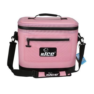 11.25 Qt. Pink Soft Sided Cooler
