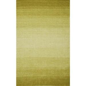 Dunes Wool Ombre Lime 5 ft. x 7 ft. 3 in. Area Rug