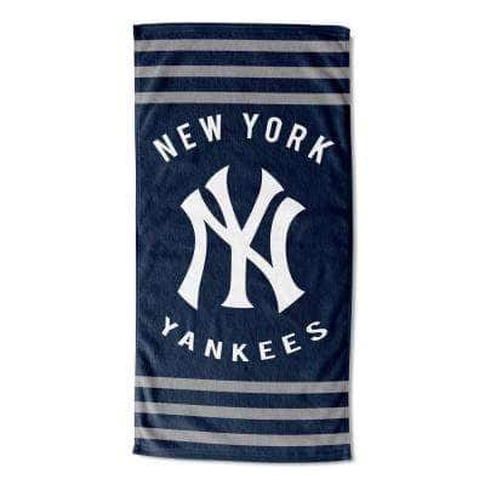 Yankees Stripes Multi Colored Beach Towel