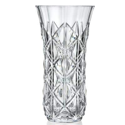 11.5 in. Enigma Crystal Vase