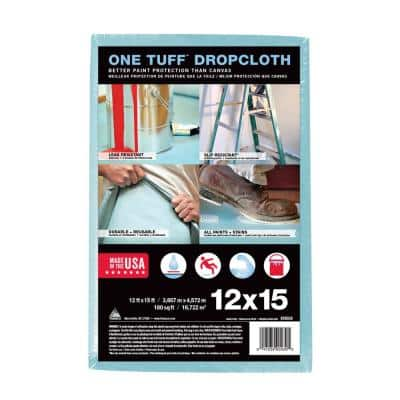 One Tuff 12 ft. x 15 ft. Professional Grade Drop Cloth