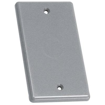 1-Gang Blank Handy Box Cover