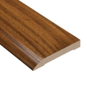 Brazilian Chestnut 1/2 in. Thick x 3-1/2 in. Wide x 94 in. Length Wall Base Molding