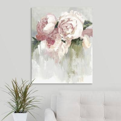 """""""Peonies"""" by  Asia Jensen Canvas Wall Art"""