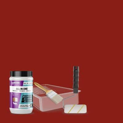 1 qt. Poppy Furniture Cabinets Countertops and More Multi-Surface All-in-One Interior/Exterior Refinishing Kit