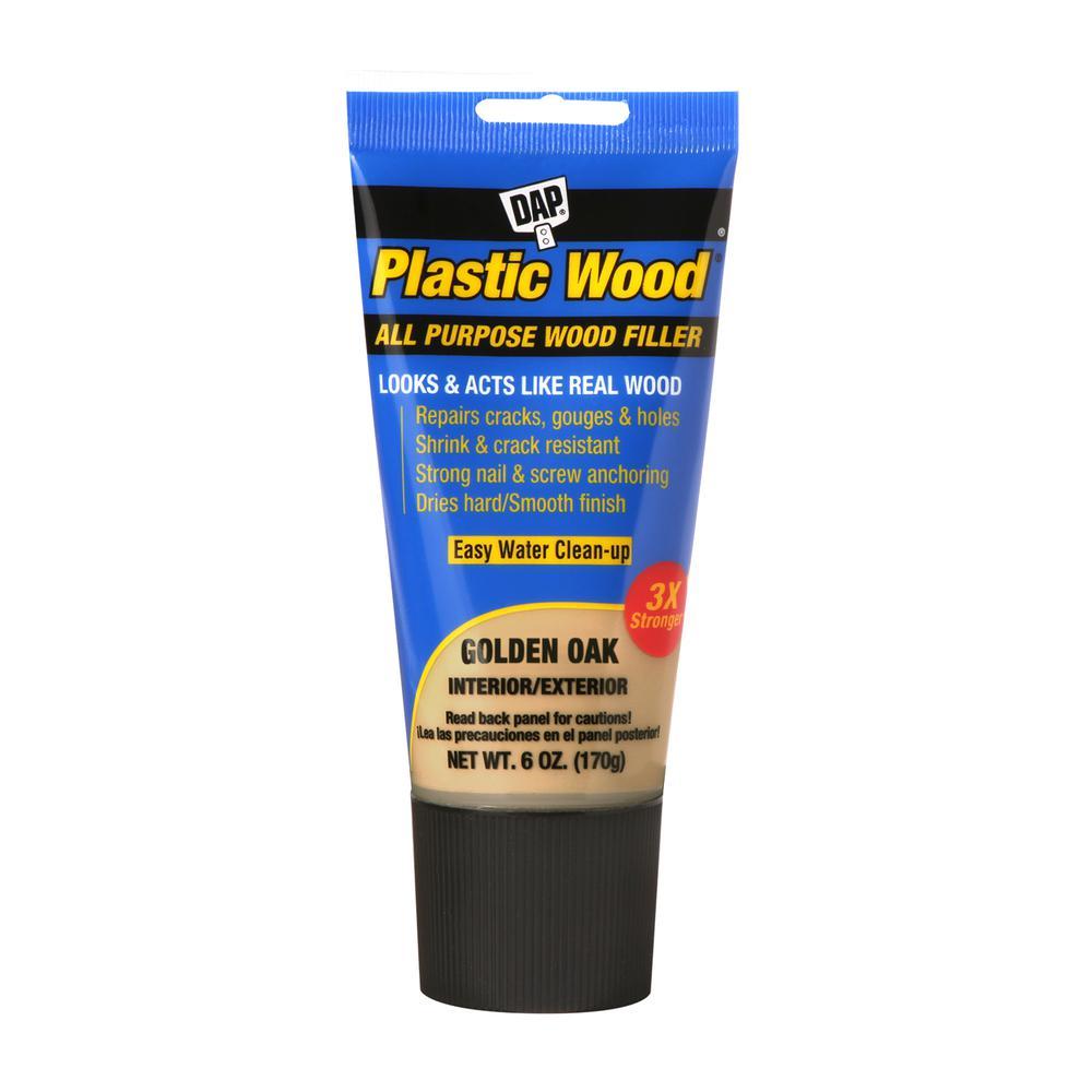 Plastic Wood 6 oz. Golden Oak Latex Wood Filler