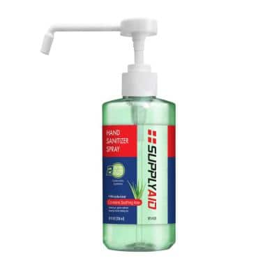 8 oz. Dual Action Hand Sanitizer Spray with Soothing Aloe