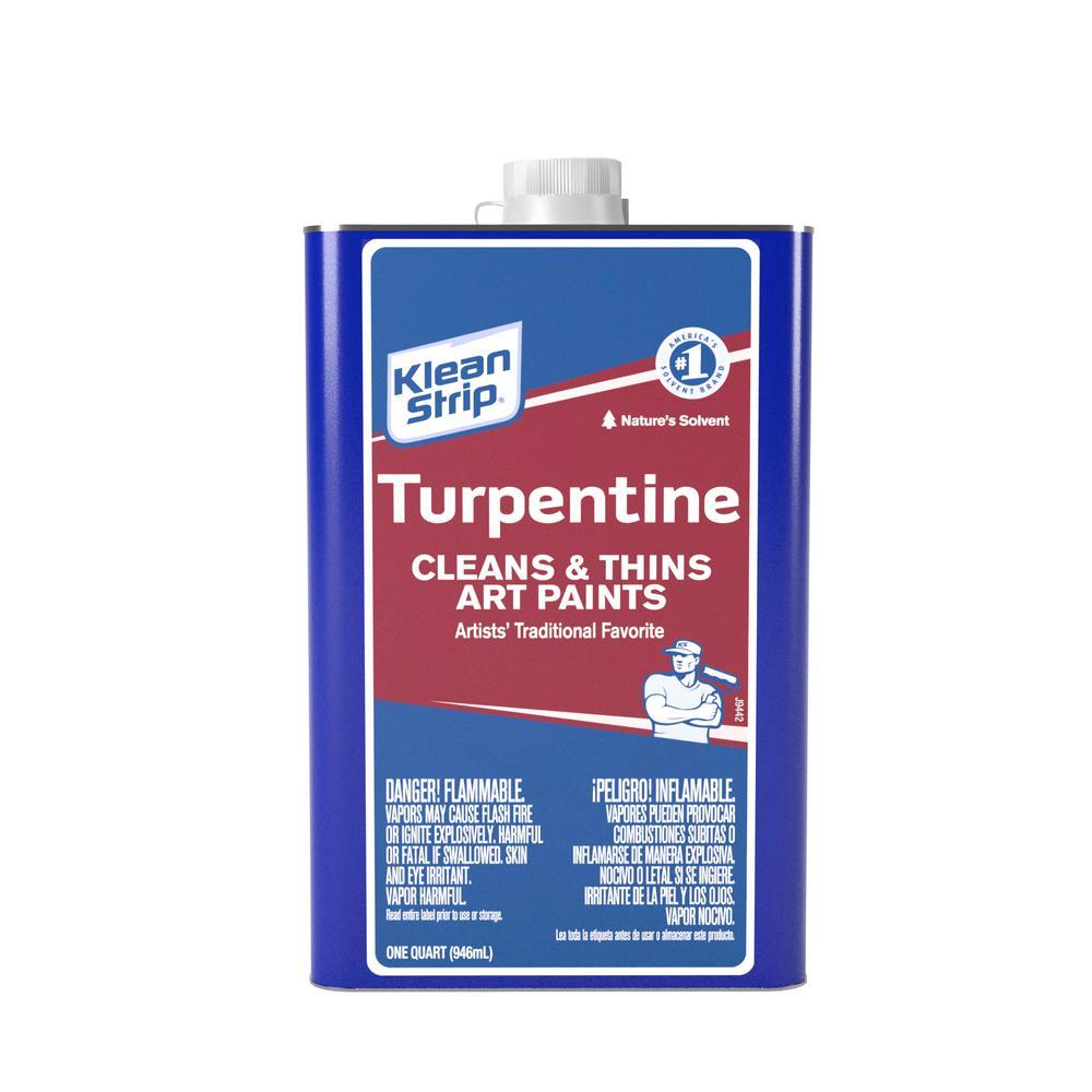 1 qt. Turpentine