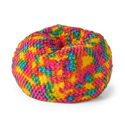Malaby Multicolor Bean Bag (25 in. x 34 in. x 34 in.)