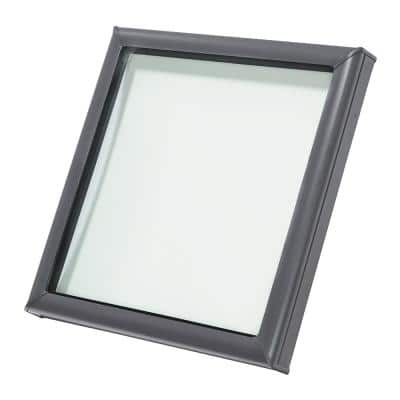 22-1/2 in. x 22-1/2 in. Fixed Curb-Mount Skylight with Laminated Low-E3 Glass