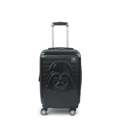 Darth Vader Embossed 21 in. Black Spinner Suitcase