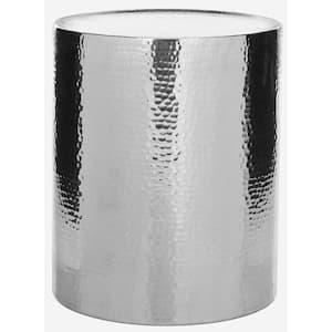 Polonium Silver End Table