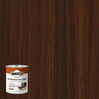 1 pt. Hazelnut Butcher Block Oil and Stain (4-Pack)