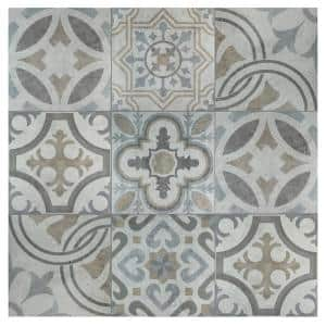 Llanes Jet 13-1/8 in. x 13-1/8 in. Ceramic Floor and Wall Tile (11.18 sq. ft. / case)