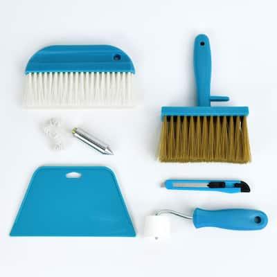 8.27 in. x 5.12 in. Wallpaper Tool Kit