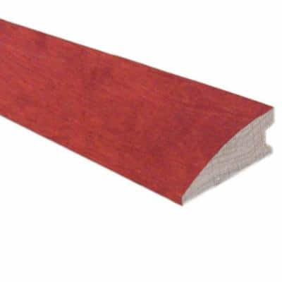 Birch Bordeaux 3/4 in. Thick x 1-5/8 in. Wide x 78 in. Length Flush-Mount Reducer Molding