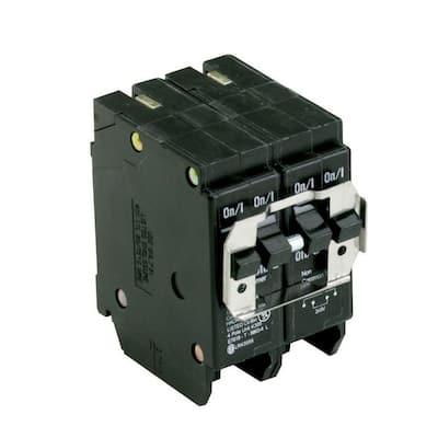 BR 2-30 Amp 2 Pole BQC (Common Trip) Quad Circuit Breaker