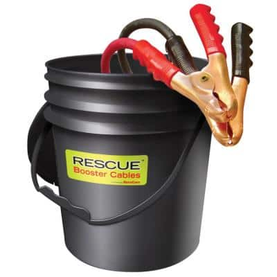 Booster Cables - 2/0 Gauge, 25 ft. in Pail