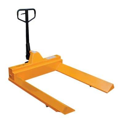 45 in. x 48 in. 4,400 lbs. Capacity Roll Pallet Truck