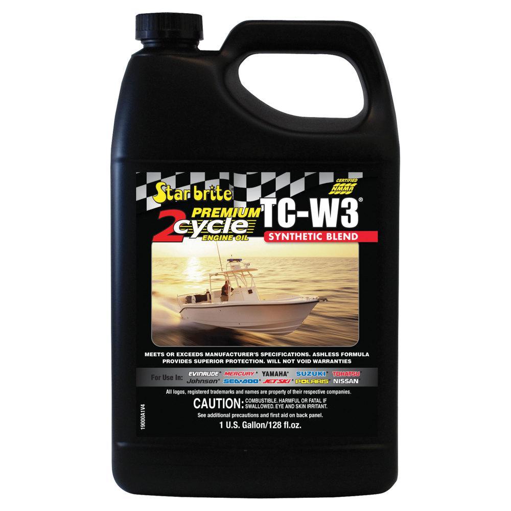 Super Premium 2-Cycle Engine Oil TC-W3 - Gallon
