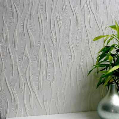 Caiger Paintable Textured Vinyl Strippable Wallpaper (Covers 57.5 sq. ft.)
