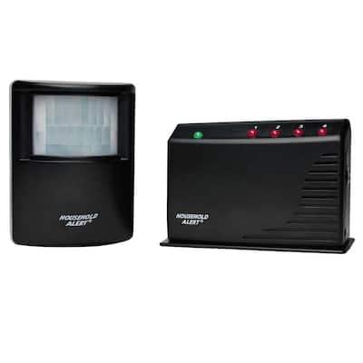 Wireless Motion Alarm Kit and Alert Set