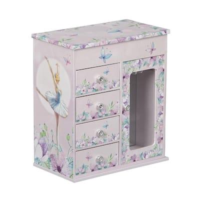 Liliana Girl's Musical Ballerina Jewelry Box
