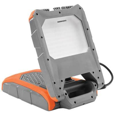 9000 Lumens, LED Bluetooth and Plug Socket Work Light with Stand
