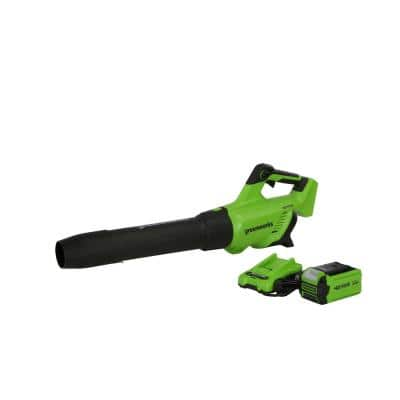120 MPH 500 CFM 40-Volt Battery Cordless Handheld Leaf Blower with 2.5 Ah USB Battery and Charger