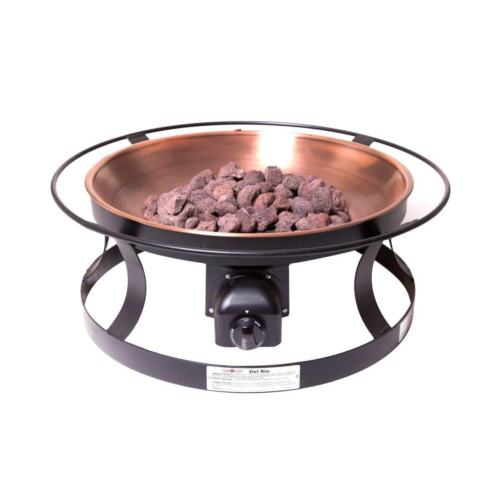 Camp Chef Del Rio Propane Gas Fire Pit Fp29lg The Home Depot