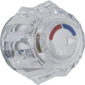Clear Knob Handle for 13/14 Series Shower Faucets