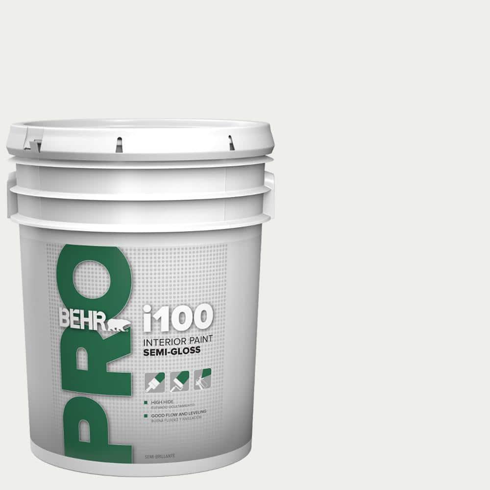BEHR PRO 5 gal. i100 Toned-Base Semi-Gloss Interior Paint