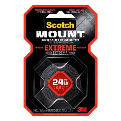 Scotch 1 in. x 1.33 yds. Permanent Double Sided Extreme Mounting Tape