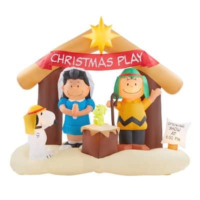 6 ft. Inflatable Nativity Scene