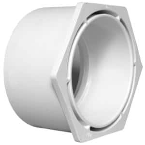 12 in. x 10 in. PVC DWV Flush Bushing