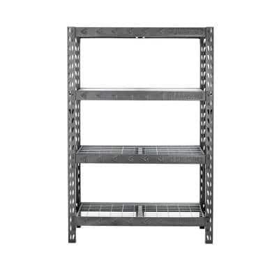 4-Tier Welded Steel Garage Storage Shelving Unit (48 in. W x 72 in. H x 18 in. D)