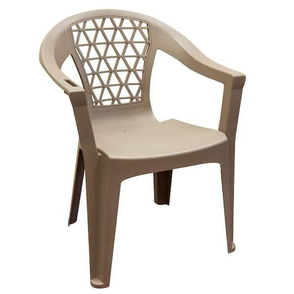 Penza Mushroom Stack Resin Plastic, Outdoor Plastic Furniture