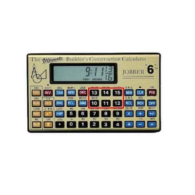 Job 6 Construction Calculator