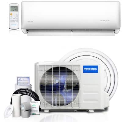 Olympus Hyper Heat 17,000 BTU 1.4 Ton Ductless Mini Split Air Conditioner and Heat Pump - 230V/60Hz