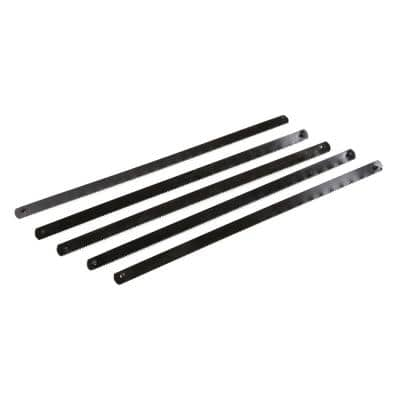 6 in. Mini Hacksaw Replacement Blades (5-Pack)