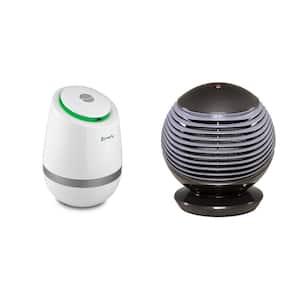 1500-Watt pureHeat WAVE Electric Fan Portable Space Heater and pureAir 500 Tabletop Air Purification Bundle