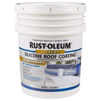 4.75 Gal. Silicone Reflective Roof Coating