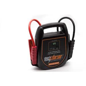 12-Volt Super Capacitor Jump Starter Never Needs Recharging Like Lithium Jump Starters