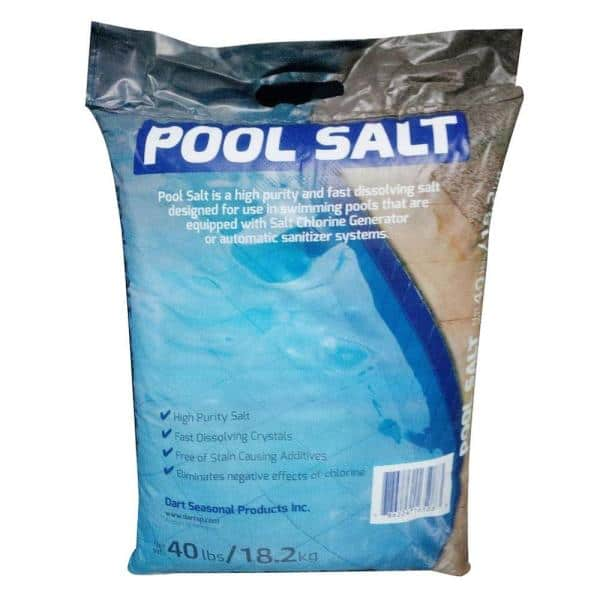 40 Lb Pool Salt Bag Ps40 The Home Depot